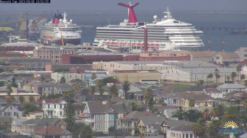 Disney Wonder & Carnival Triumph - Port of Galveston