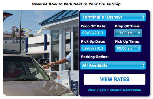 Port Canaveral Parking Select Dates