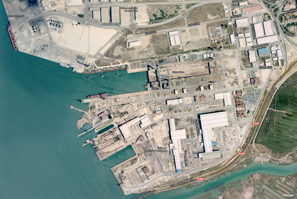 Puerto Real Shipyard Cadiz Spain Navantia