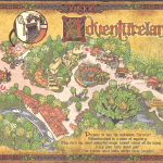 Sorcerers of the Magic Kingdom Map - Adventureland