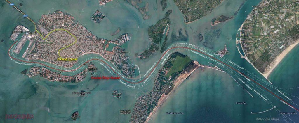 Venice Italy Google Map