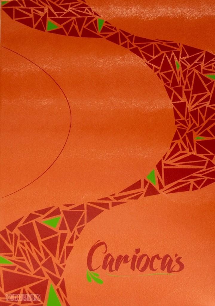 Carioca's Menu