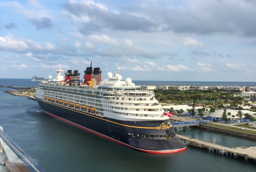Disney Magic Portside Aft Port Canaveral