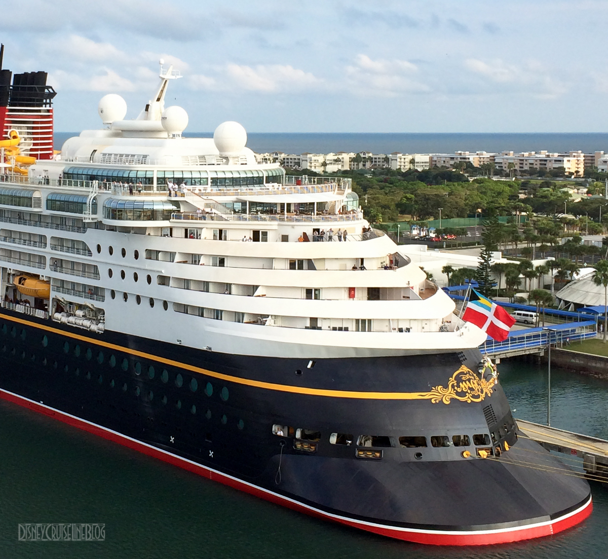 Disney Magic From The Deck Of The Disney Dream The Disney Cruise - What is the aft of a cruise ship