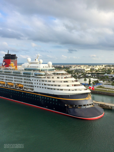 Disney Magic Aft Ducktail Port Canaveral