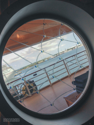 Disney Dream Halloween On The High Seas Spider Web Porthole