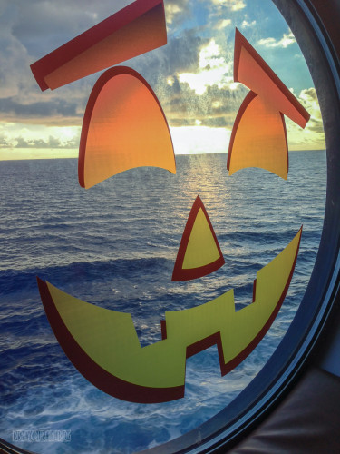 Disney Dream Halloween On The High Seas Pumpkin Porthole