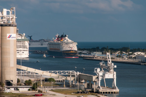 Disney Magic In Port Canaveral