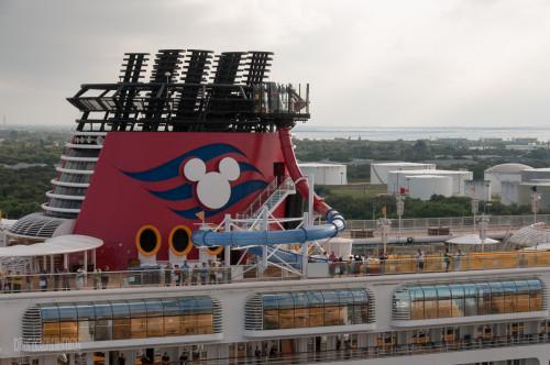 Disney Magic AquaDunk Launch Port Canaveral