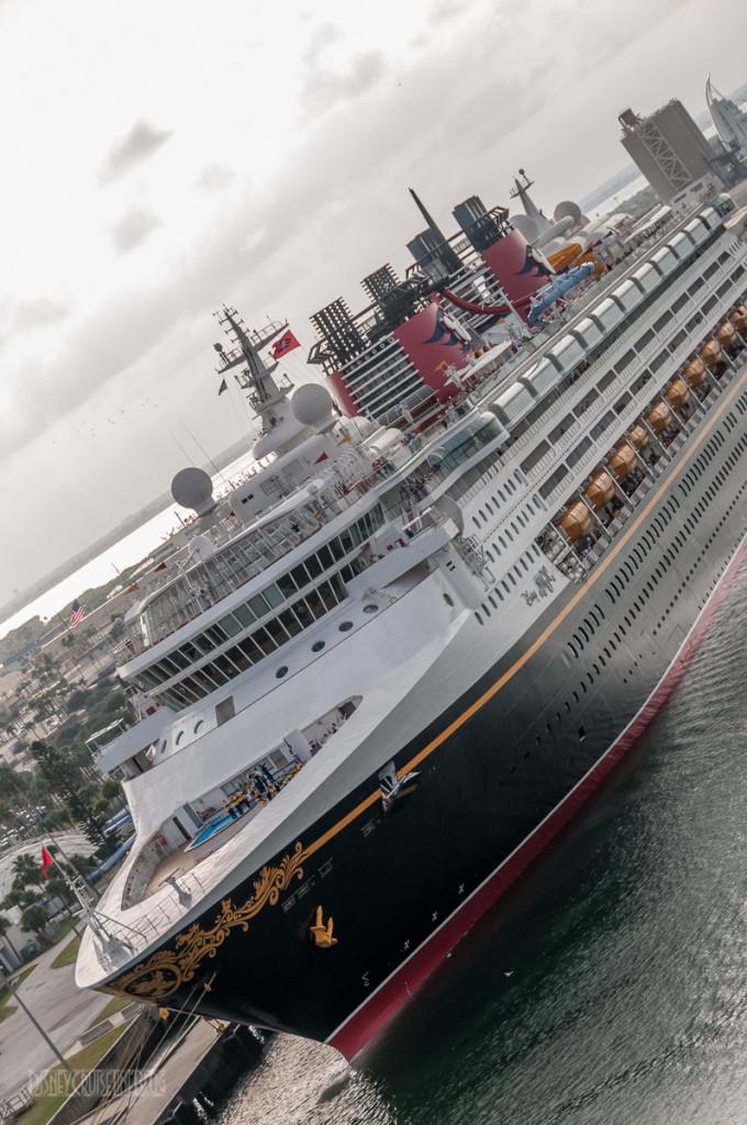 Disney Magic's New Look Port Canaveral