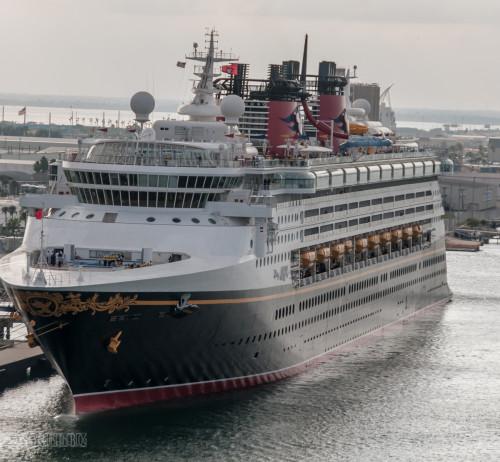 Disney Magic Port Bow Port Canaveral