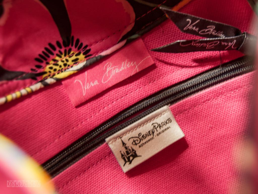 Disney Cruise Line Vera Bradley Tote Labels