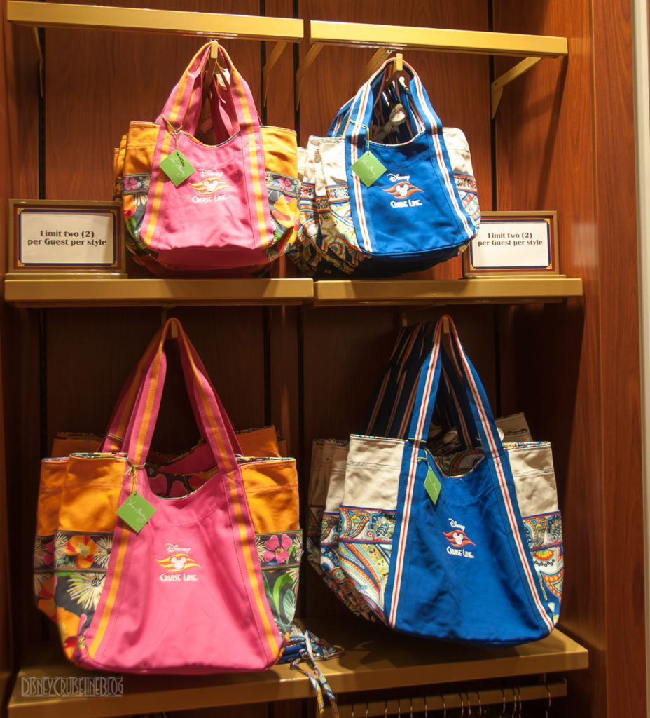 Disney Cruise Line Vera Bradley Collection Totes