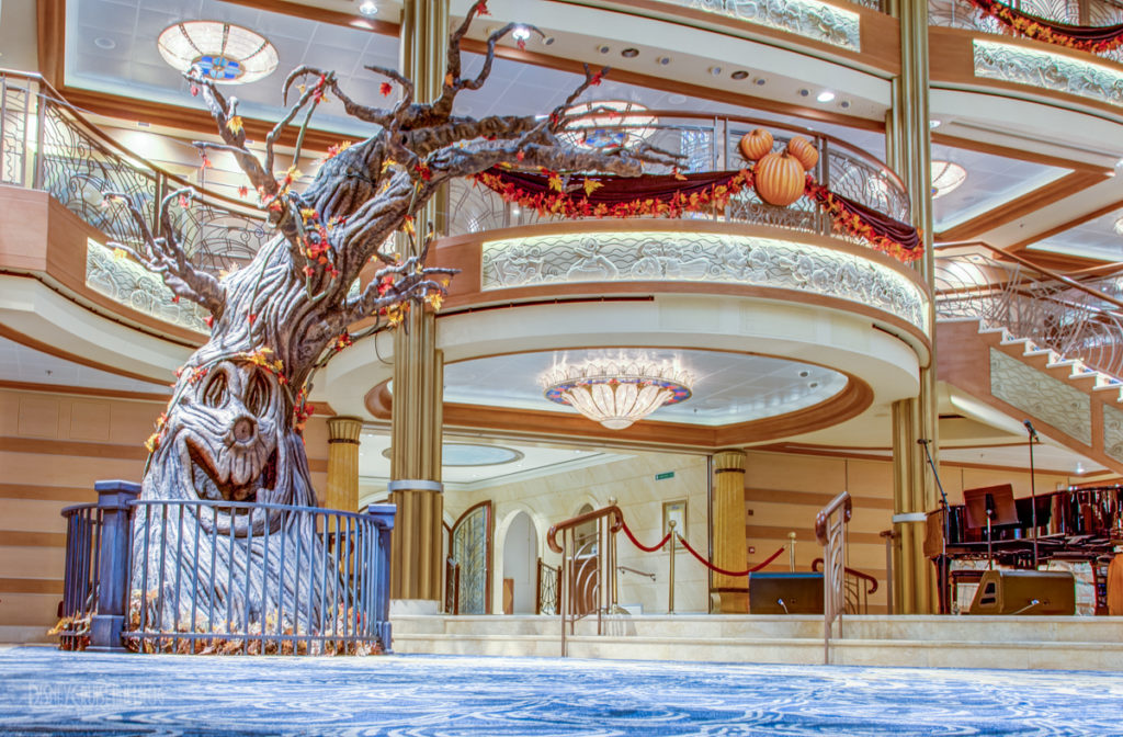 Disney Dream Halloween On The High Seas The Pumpkin Tree