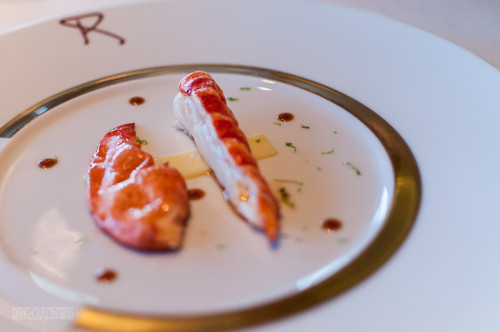 Remy Homard (Lobster) On Lemon Curd