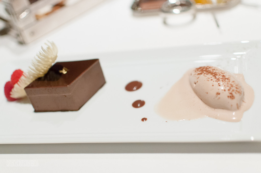 Remy Chocolat Dessert Plate