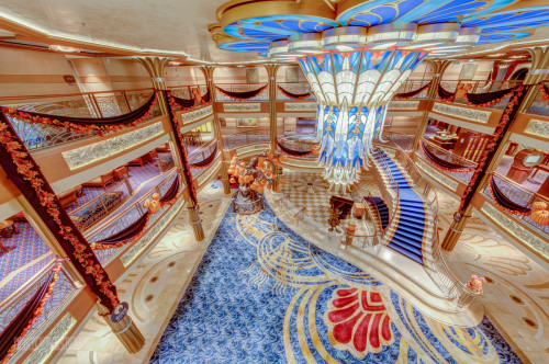 Disney Dream Atrium Lobby Halloween On The High Seas