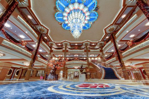 Disney Dream Atrium Lobby Halloween On The High Seas