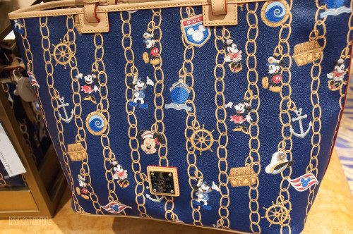 DCL Dooney & Bourke Charm Bracelet Design Large Bag