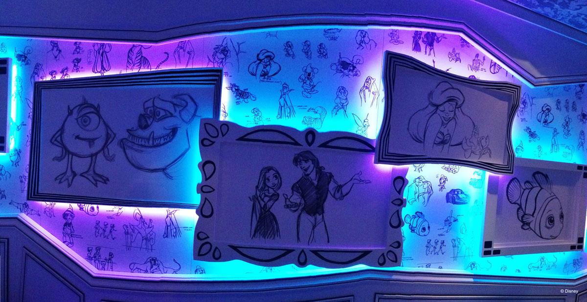 Disney Magic Dry Dock Cadiz DCL Animators Palate