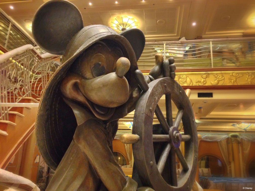Disney Magic Dry Dock Cadiz DCL Helmsman Mickey