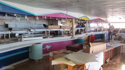 Disney Magic Dry Dock Cadiz KUB Cabanas Freestyle Buffet Kangaroo