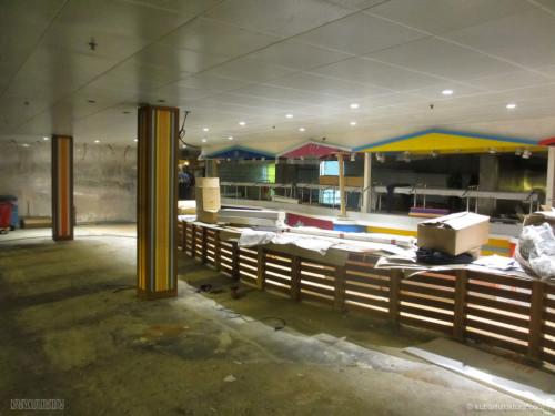 Disney Magic Dry Dock Cadiz KUB Cabanas Seating
