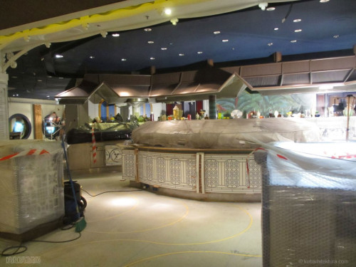 Disney Magic Dry Dock Cadiz KUB Cariocas Buffet