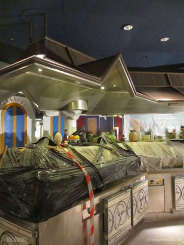 Disney Magic Dry Dock Cadiz KUB Cariocas Buffet Closeup