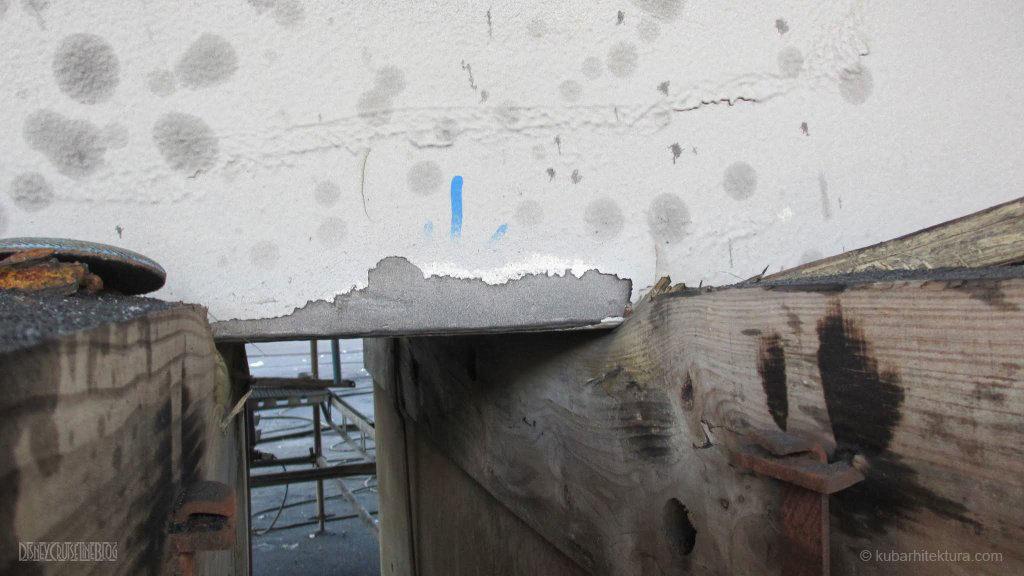 Disney Magic Dry Dock Cadiz KUB Paint Keel Blocks