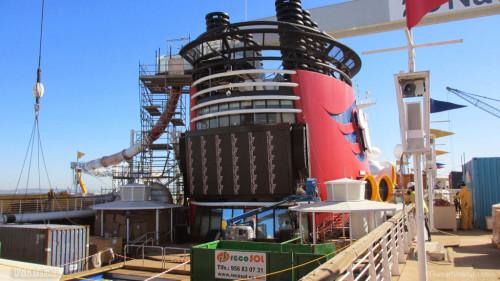 Disney Magic Dry Dock Cadiz KUB Upper Deck AquaDunk Funnel Vision
