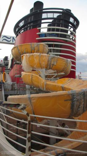 Disney Magic Dry Dock Cadiz KUB Upper Deck Twist N Spout