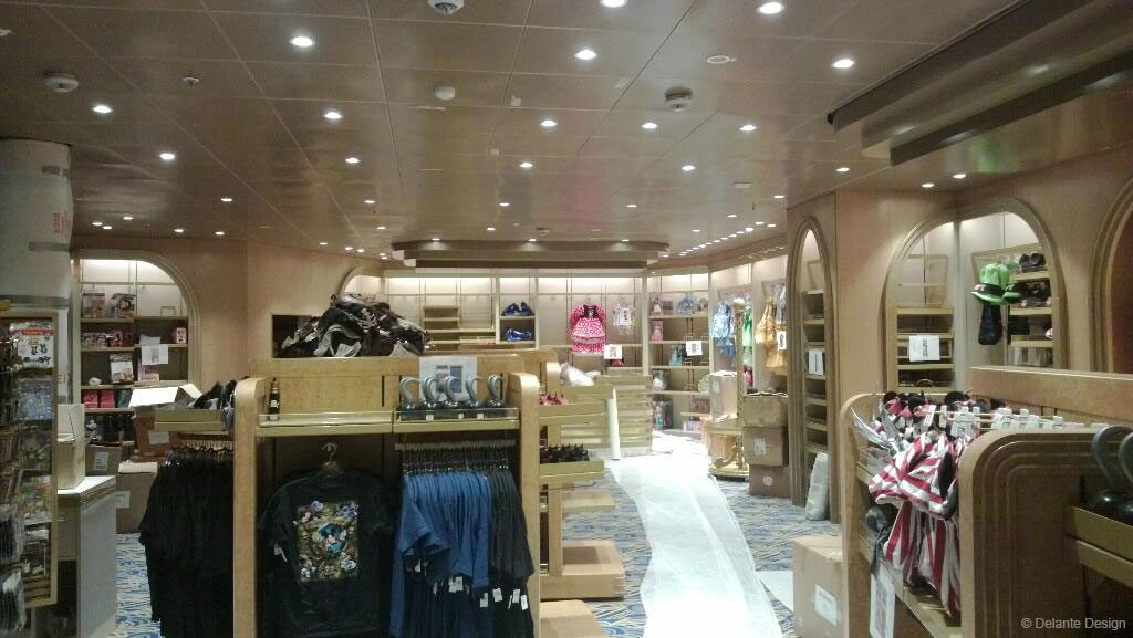 Disney Magic Dry Dock Retail Mickeys Mainsail