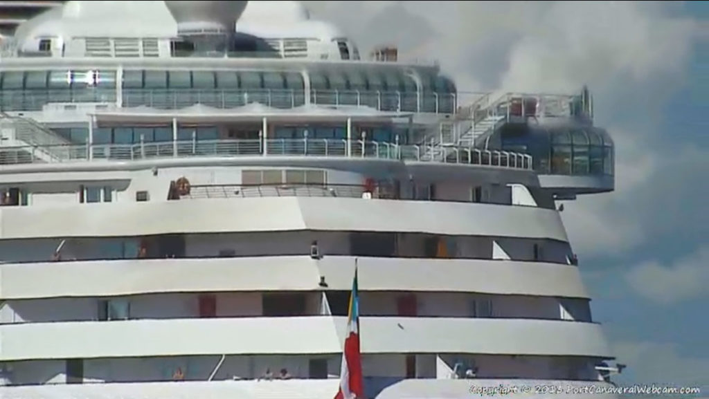 Disney Magic Return To Port Canaveral Aft Verandahs