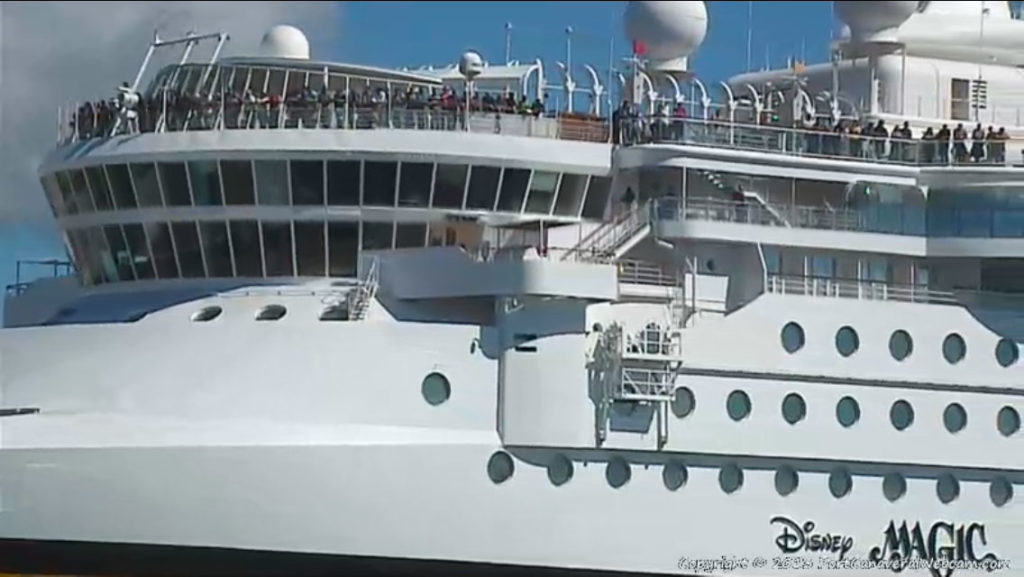 Disney Magic Return To Port Canaveral Crew