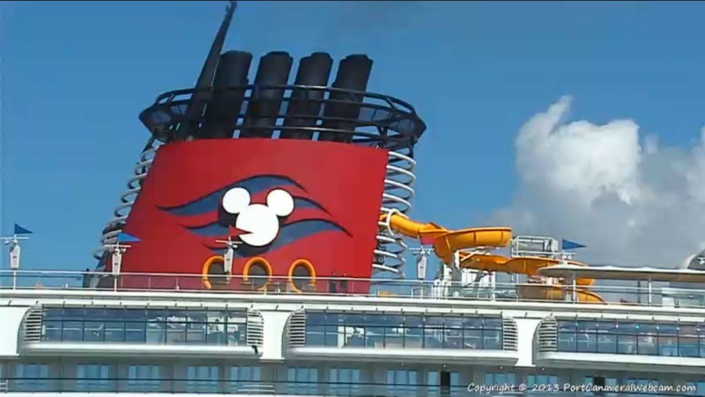 Disney Magic Return To Port Canaveral Twist N Spout