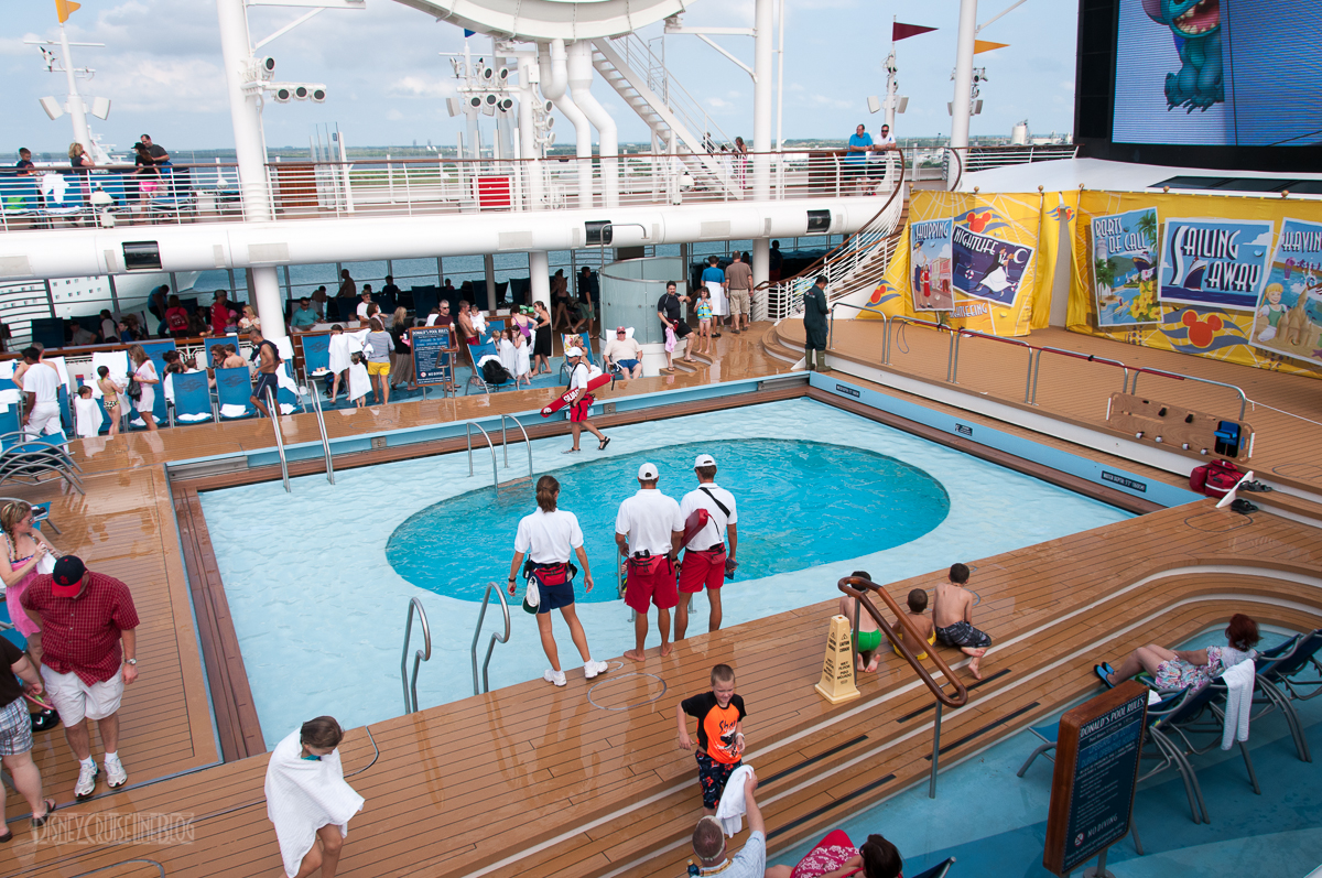 Lifeguards ON DUTY Across The Disney Cruise Line Fleet