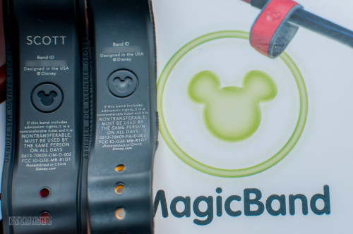 DCL Youth Activites Oceaneer Band MagicBand Comparison