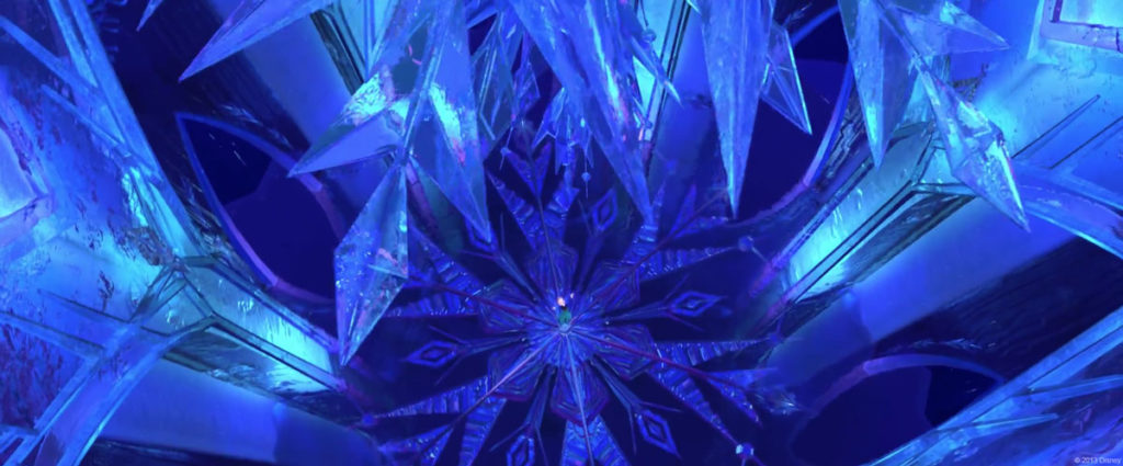 Disney Frozen Elsa Ice Palace Chandelier