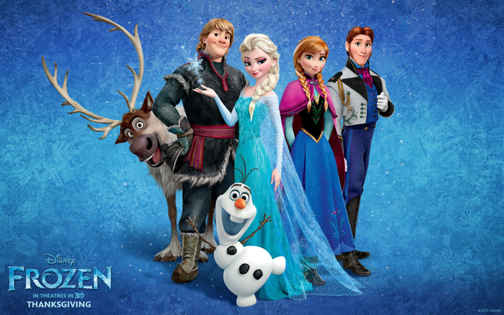 Disney Frozen Main Characters