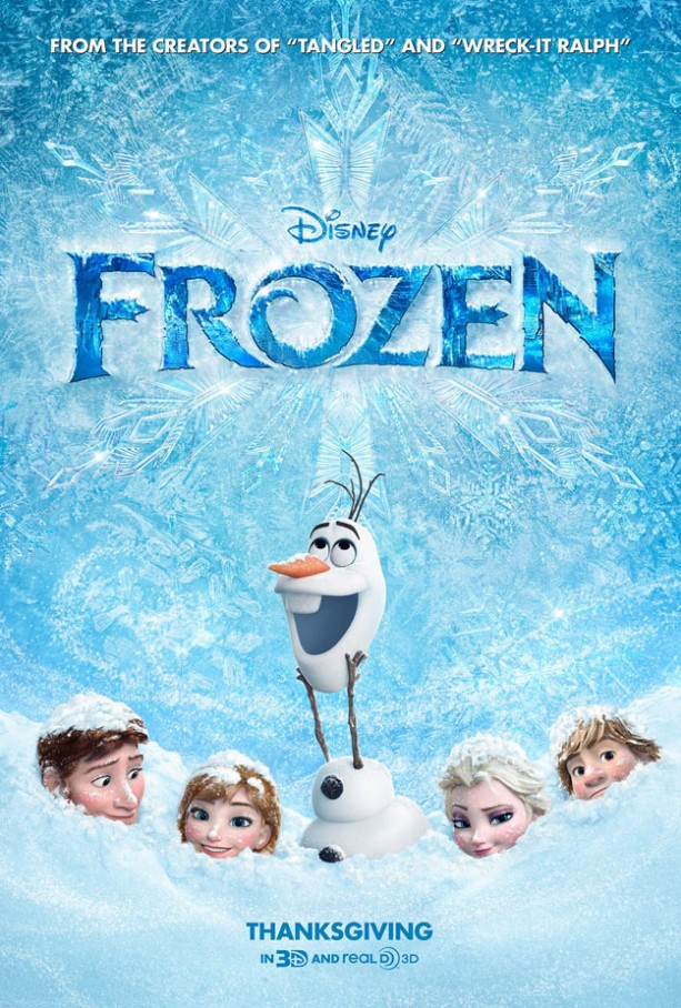 Disney Frozen Movie Poster Demi Lovato Kingdom Lyrics