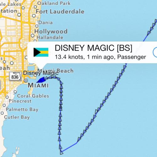 Magic Diversion Nov 8 2013 AIS U Turn