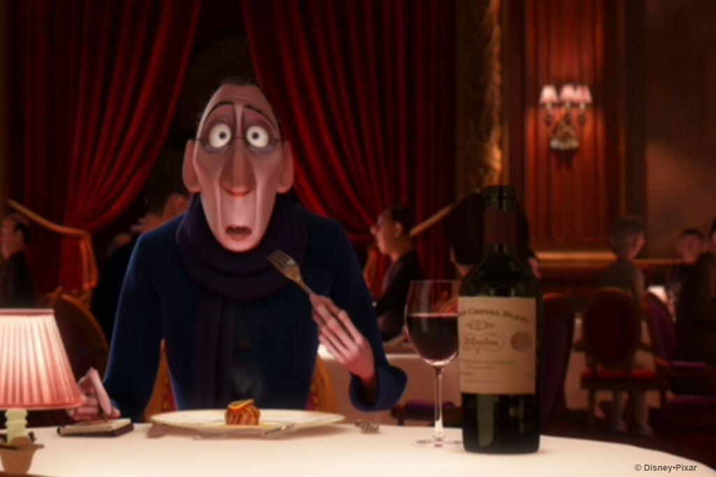 Anton Ego Ratatouille Chateau Cheval Blanc 1947