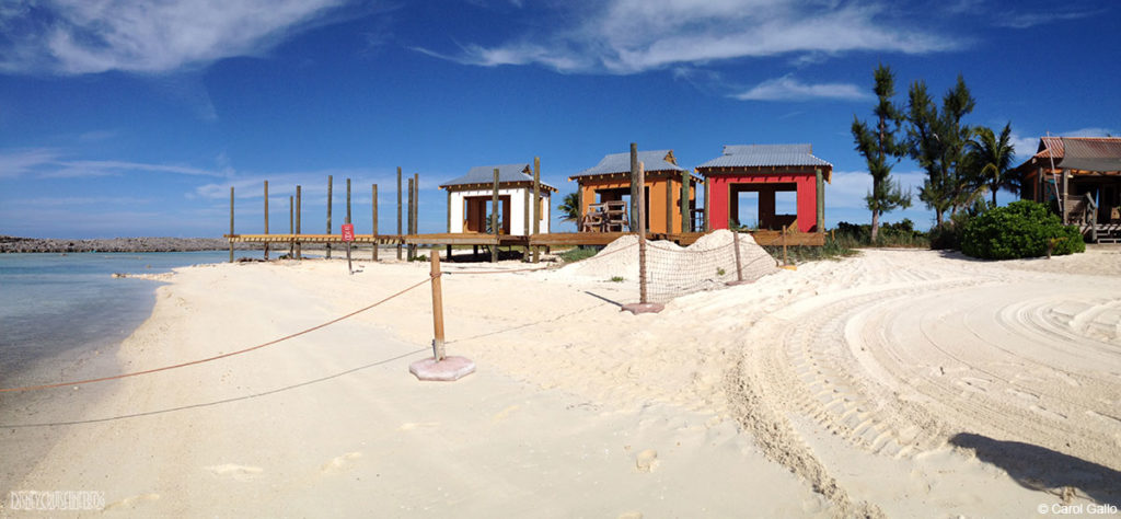 Castaway Family Cabana Construction December 2013