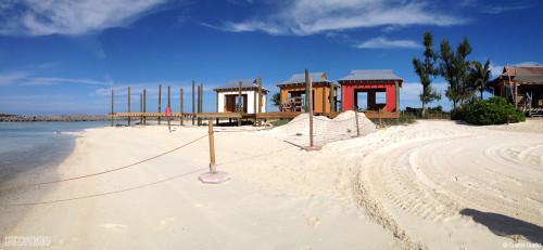 Castaway Family Cabana Construction December 2013