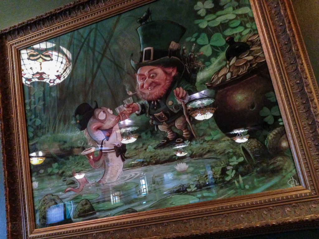 Disney Magic O'Gills Painting