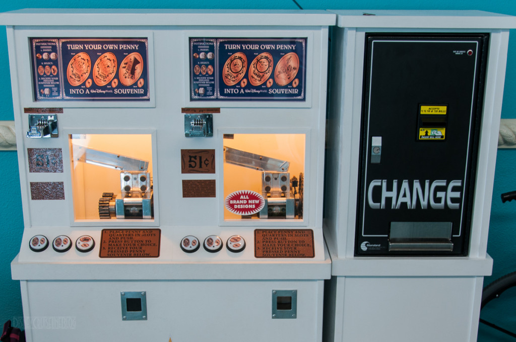 DCL Port Canaveral Pressed Coin Machine