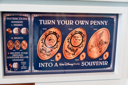 DCL Port Canaveral Penny Press Classic Instructions