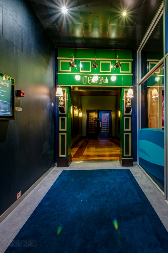 Disney Magic O'Gills Entrance