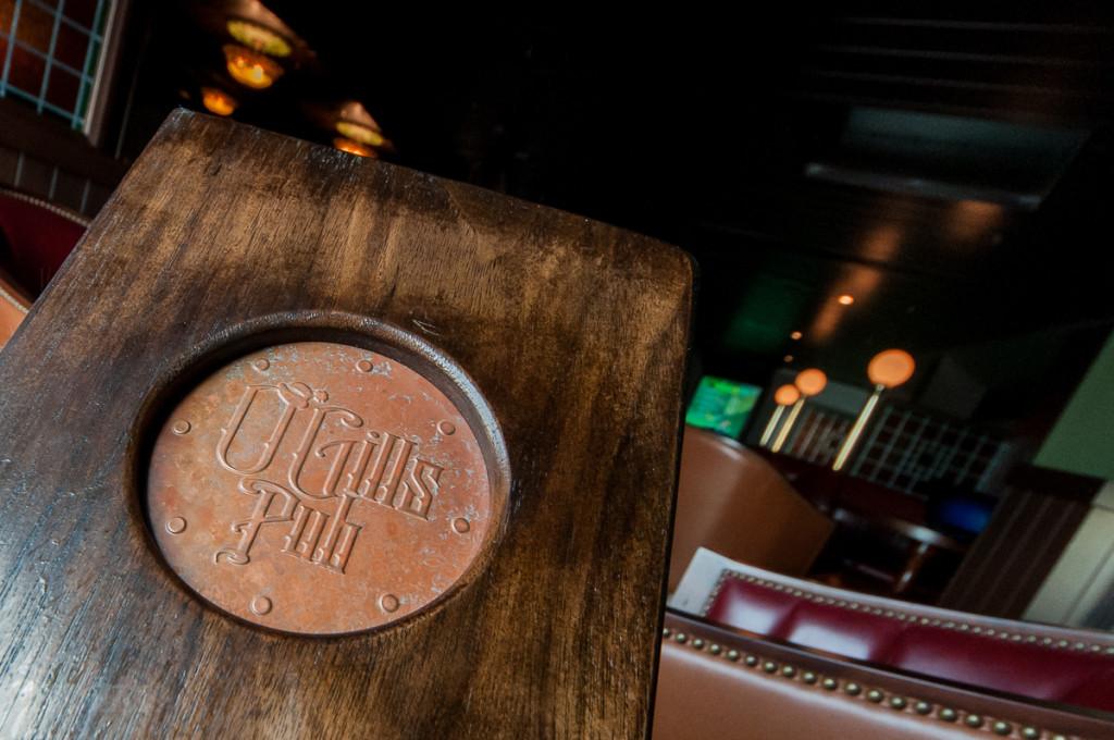 Disney Magic O'Gills Menu & Bar